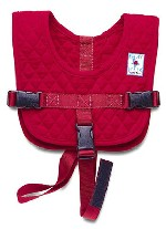 The Baby B'Air Flight Vest is the ONLY SAFETY SOLUTION for lap held children who fly.
